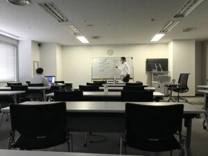 オンライン授業風景です